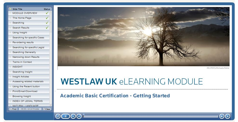 Westlaw And Lexis Library Certification Uco Library